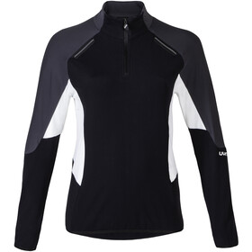 UYN Move Zip Up Jacket Woman Black/Charcoal/Off White